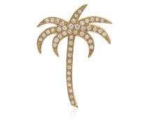 diamond palm pendant necklace