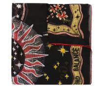 zodiac square scarf