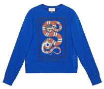 "Sweatshirt mit ""Kingsnake""-Print"