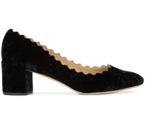 'Lauren' Samt-Pumps
