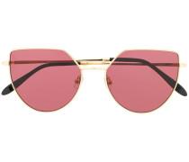 Sonnenbrille mit schmalem Gestell