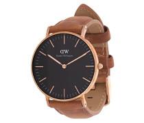 Classic Black Durham watch