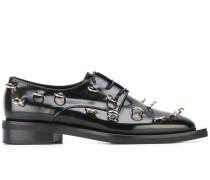Derby-Schuhe mit Piercings