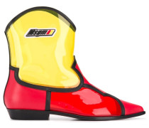 Cowboystiefel in Colour-Block-Optik