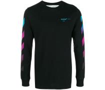 gradient stripe sweatshirt
