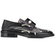Derby-Schuhe mit Perlen