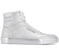High-Top-Sneakers mit Logo