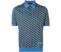 Poloshirt mit grafischem Print