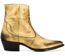 Western metallic boots