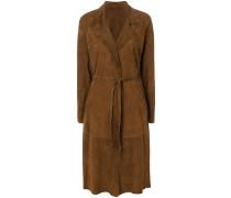 belted midi coat