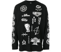 Scout patch print long sleeve tee