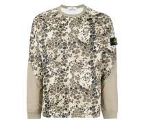 Sweatshirt mit Alligator-Print