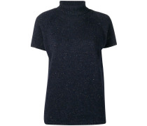 roll neck knitted top