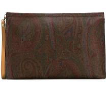 Clutch mit Paisleymuster