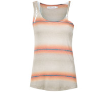 striped asymmetric tank top - Unavailable