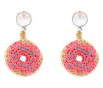 Ohrringe im Doughnut-Design