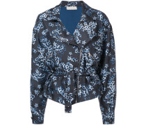 floral zipped jacket - Unavailable