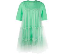 T-Shirtkleid im Layering-Look