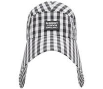 Hauben-Kappe mit Vichy-Karo