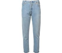 'Destruction' Cropped-Jeans