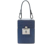 mini Alibi top handle box bag