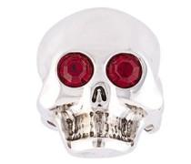 Verzierter Totenkopf-Ring