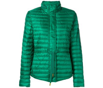 padded drawstring waist jacket