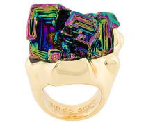 Vortex Rainbow Stone ring