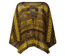 printed cape top