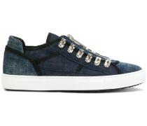 Sneakers mit Jeans-Einsatz