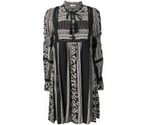 patterned tunic dress
