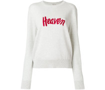 "Pullover mit ""Heaven""-Stickerei"