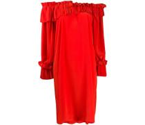 P.A.R.O.S.H. Kleid mit plissierten Einsätzen