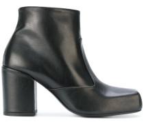 Stiefel mit breitem Absatz