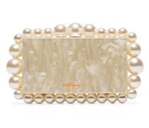 Eos pearl detail clutch bag