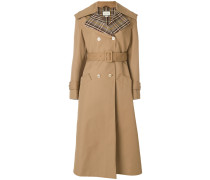 Trenchcoat mit Schmetterlings-Applikation