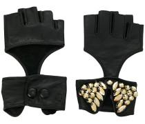 fingerless party gloves