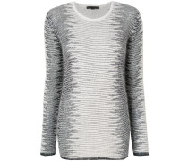 'Frayed Tunic' Pullover