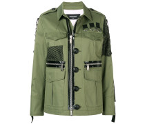 Hemdjacke im Military-Look