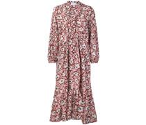 'Dayam' Kleid mit Blumen-Print
