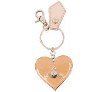 Schlüsselanhänger mit Herzmotiv