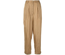 'Chandelle' Hosen mit Streifen