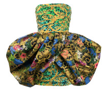 Kleid mit barockem Print