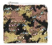 Portemonnaie mit Häkelmuster