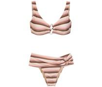 Gestreifter Bikini
