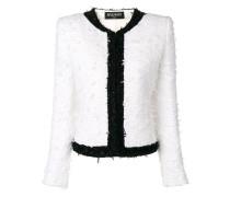 Tweed-Jacke mit schmalem Schnitt