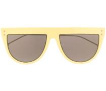 Halbrunde Sonnenbrille