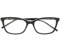 Brille mit eckigem Gestell