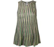 patterned woven vest