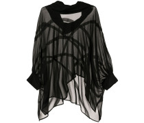 Inflate sheer asymmetric top